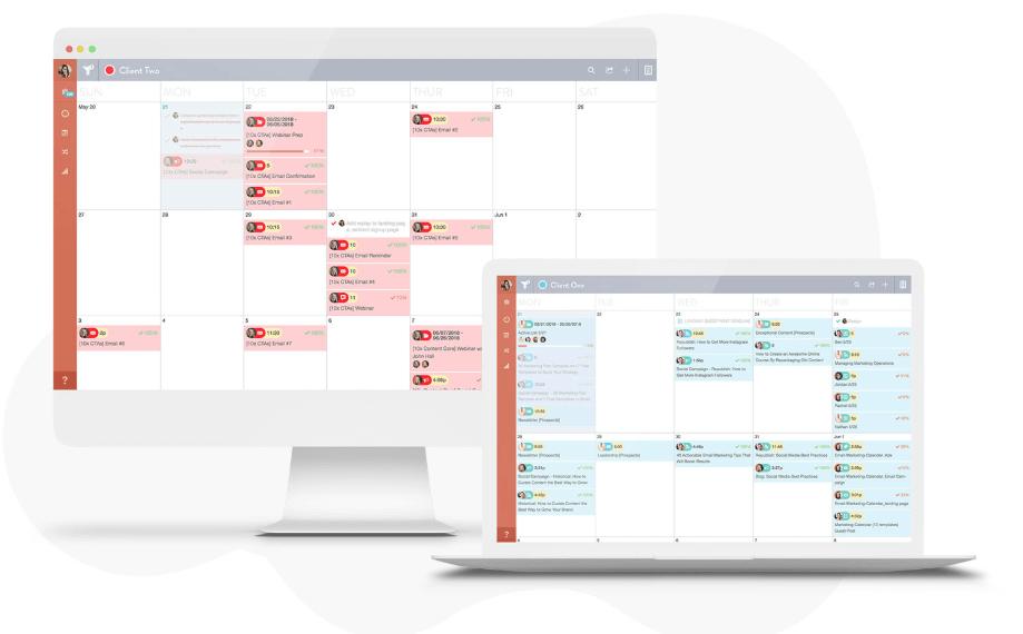 CoSchedule - content marketing calendar