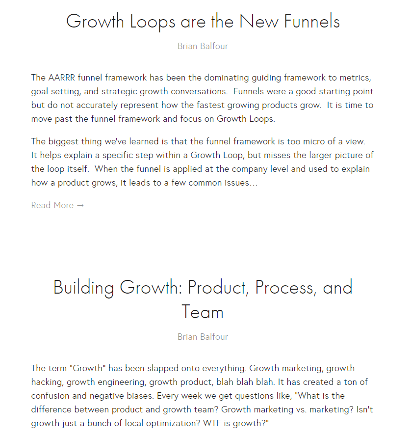 Reforge - growth loops
