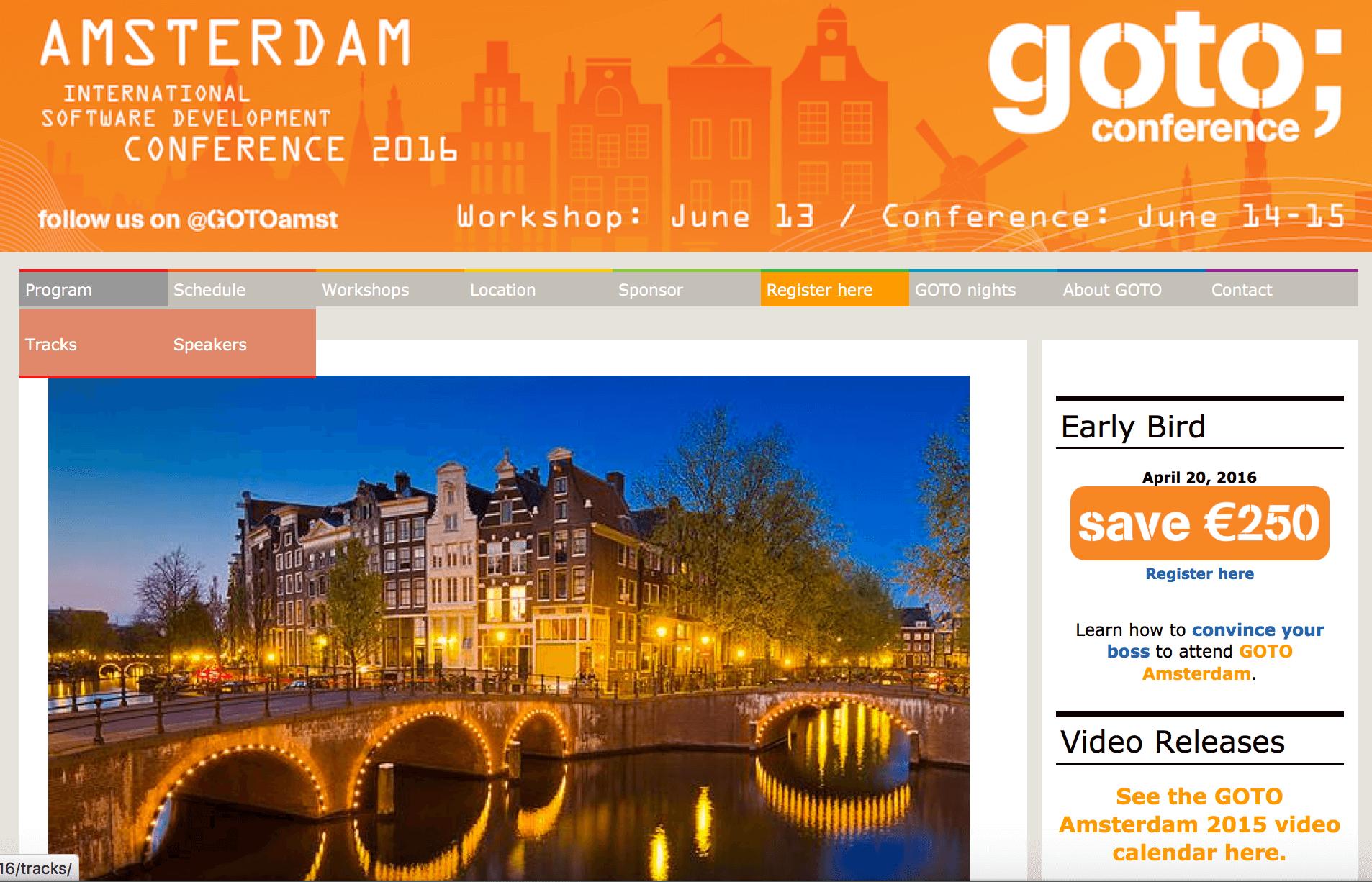 Webentwickler Konferenz