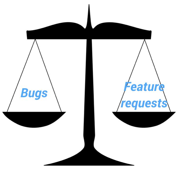 bugs prioritisieren