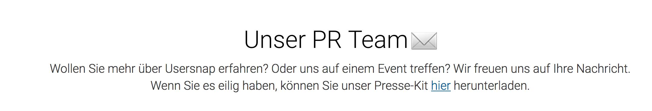 Presse Kit