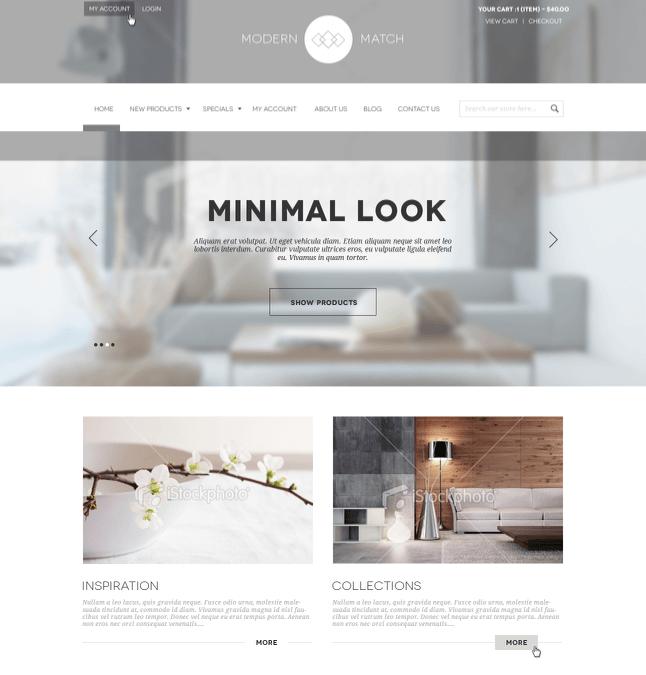 minimal-website