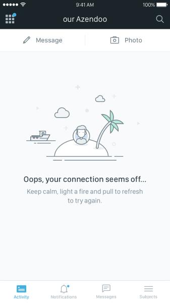 mobile-screen-error-message