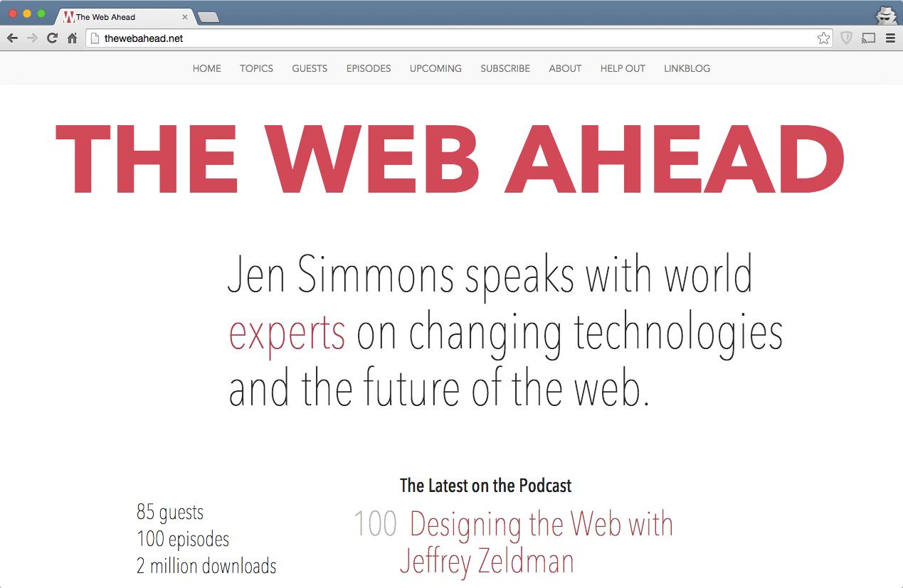 The_Web_Ahead