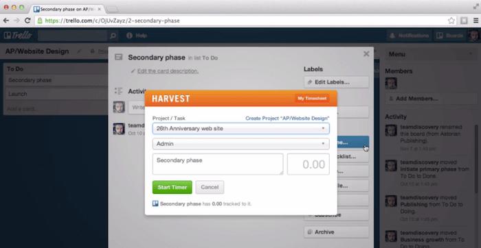 harvest-trello-integration
