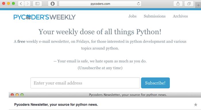 pycoders-weekly-web-development-newsletter